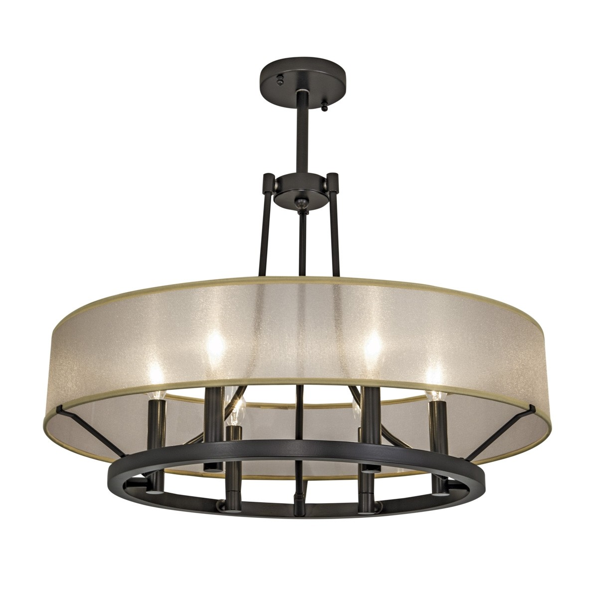Ghost Chandelier By Norwell Lighting 5224 Abpc Oz