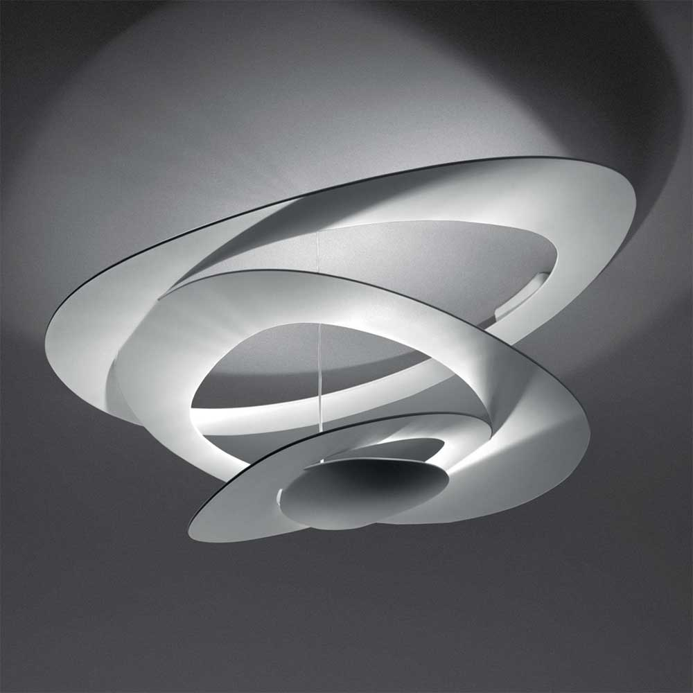 Pirce halogen ceiling light by artemide 1242018a for Led deckenleuchte modern