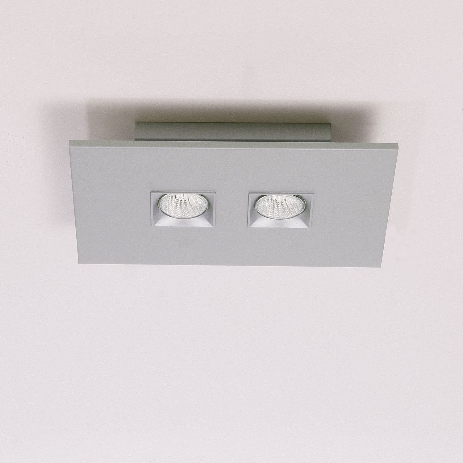 Polifemo 2 Light Rectangular Ceiling Flush Mount By