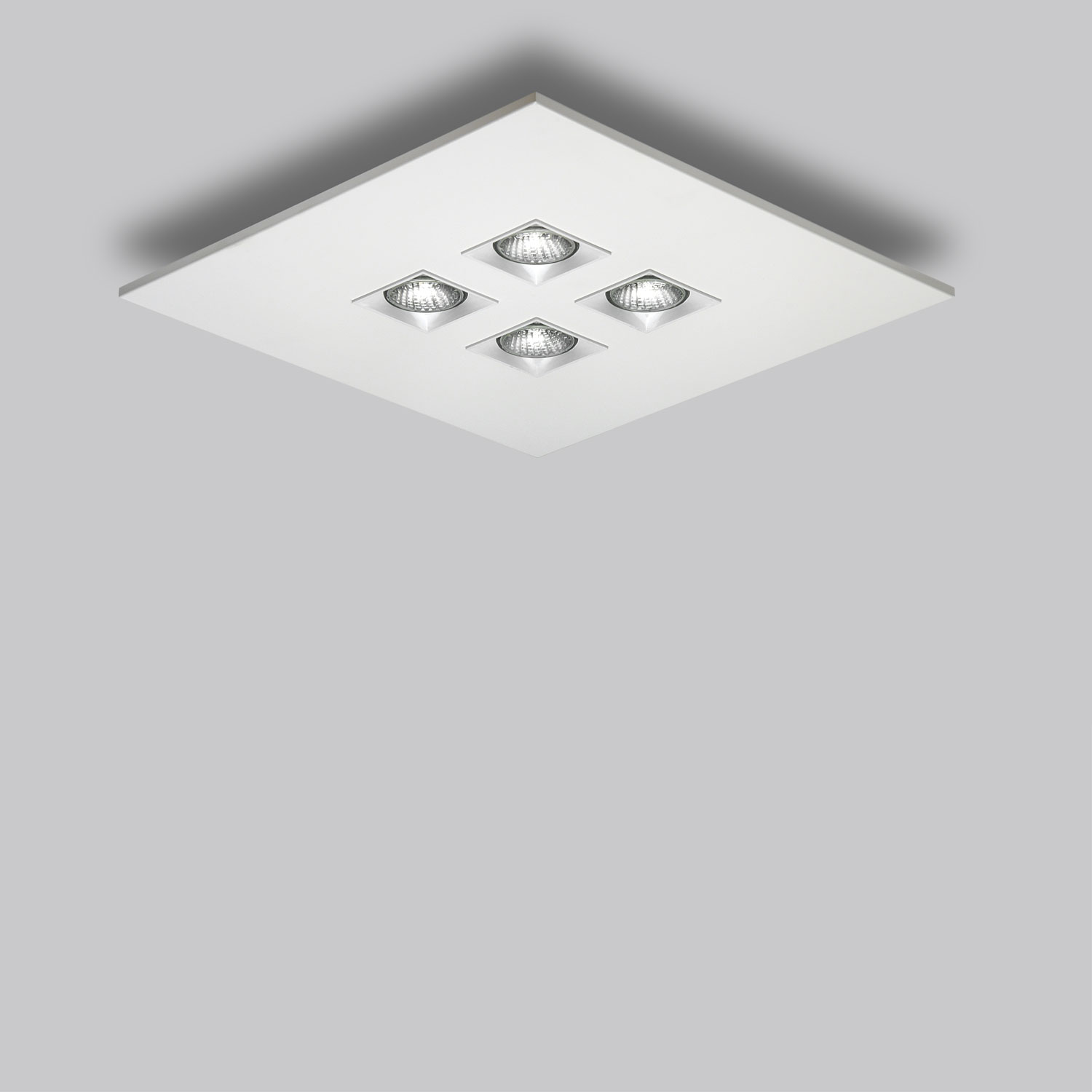 Polifemo 4 Light Square Ceiling Flush Mount By Lightology Collection Lc 1035