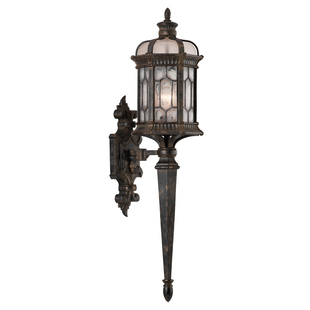 Devonshire Outdoor Torch Wall Sconce By Fine Art Lamps 414681 1st