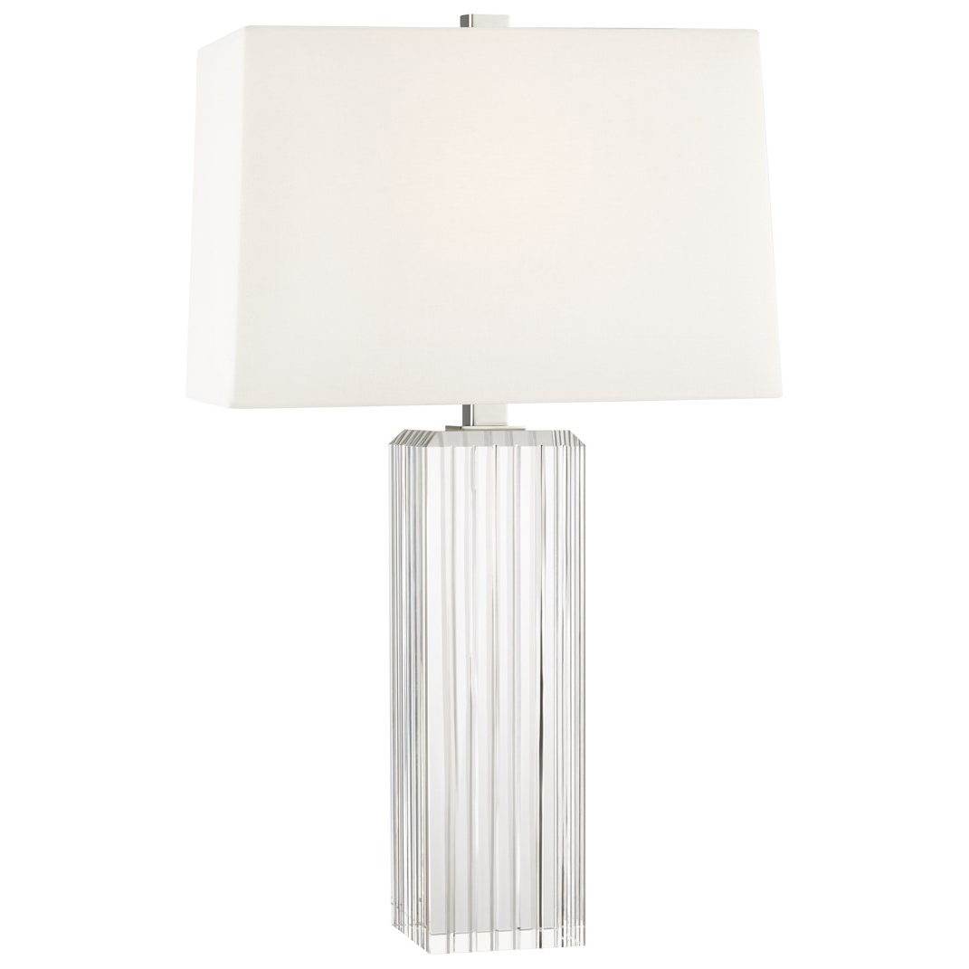 Hague Tall Table Lamp By Hudson Valley Lighting L1058 Pn