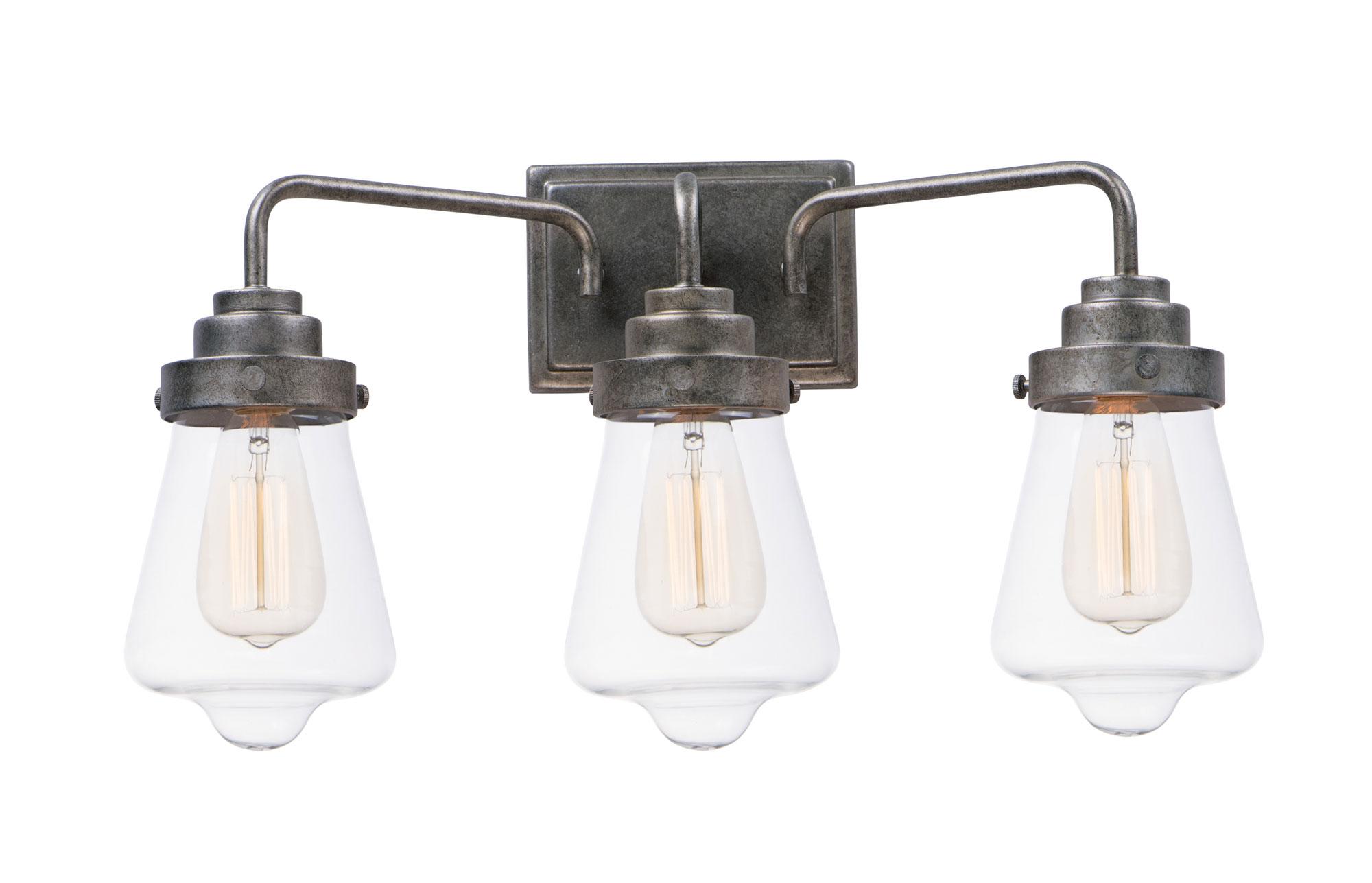 Cape cod bathroom vanity light by maxim lighting