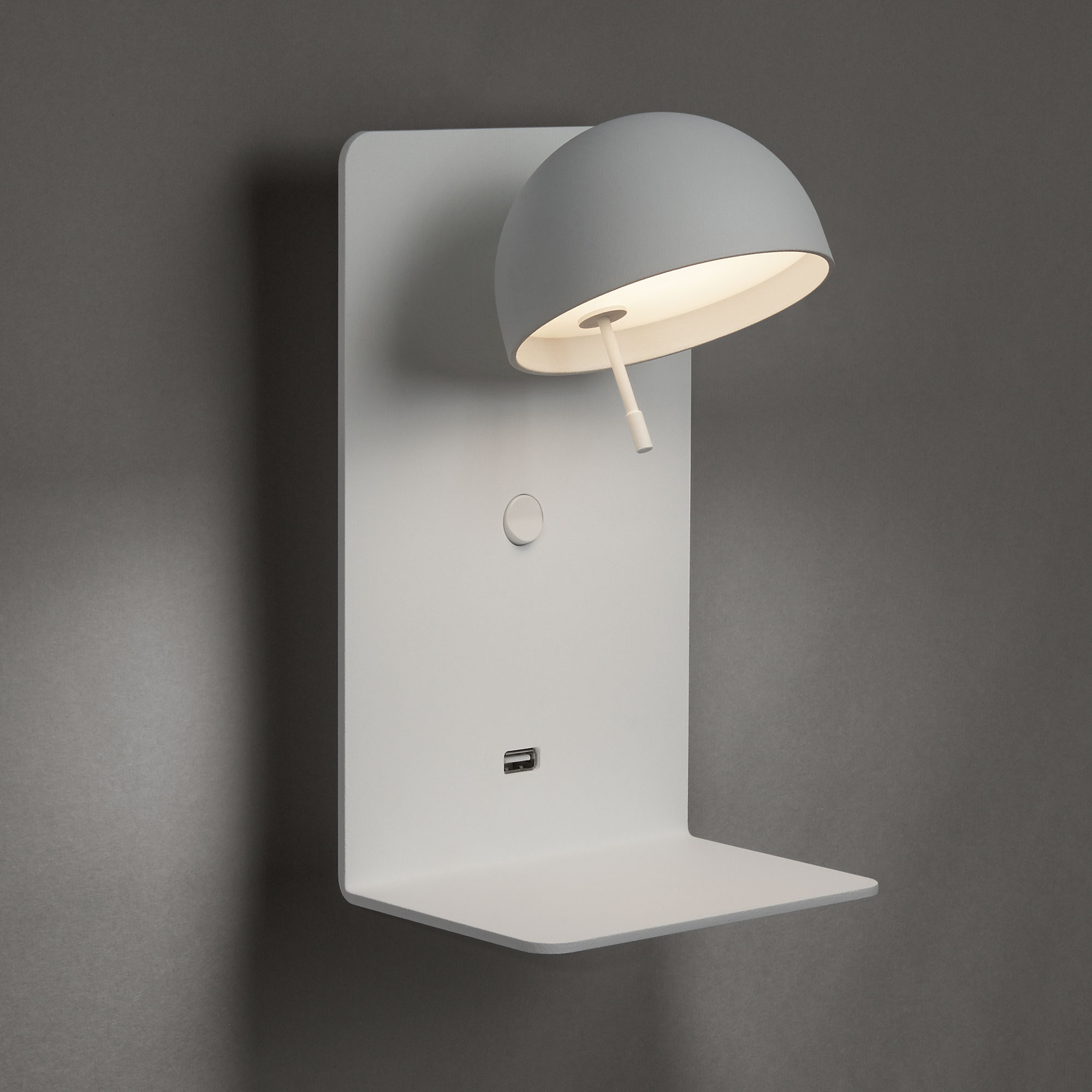 Beddy Wall Light With Shelf By Bover 23602020106u