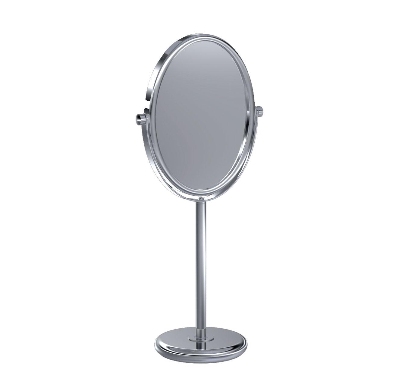 Baci Basic Large Oval Vanity Mirror By Remcraft Lighting M14 Sn