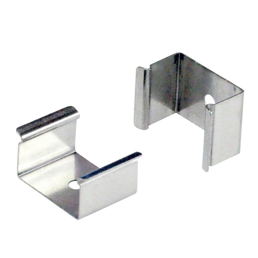 Silk Light Bar Flat Mounting Clip Pair By Nora Lighting Nal 801