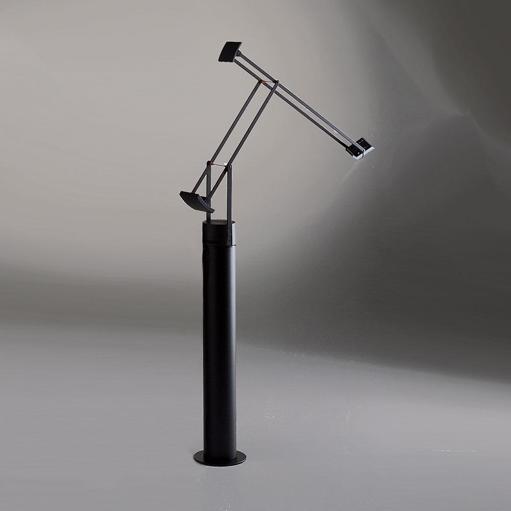 classic floor lamp by artemide  tiz - tizio classic floor lamp by artemide  tiz