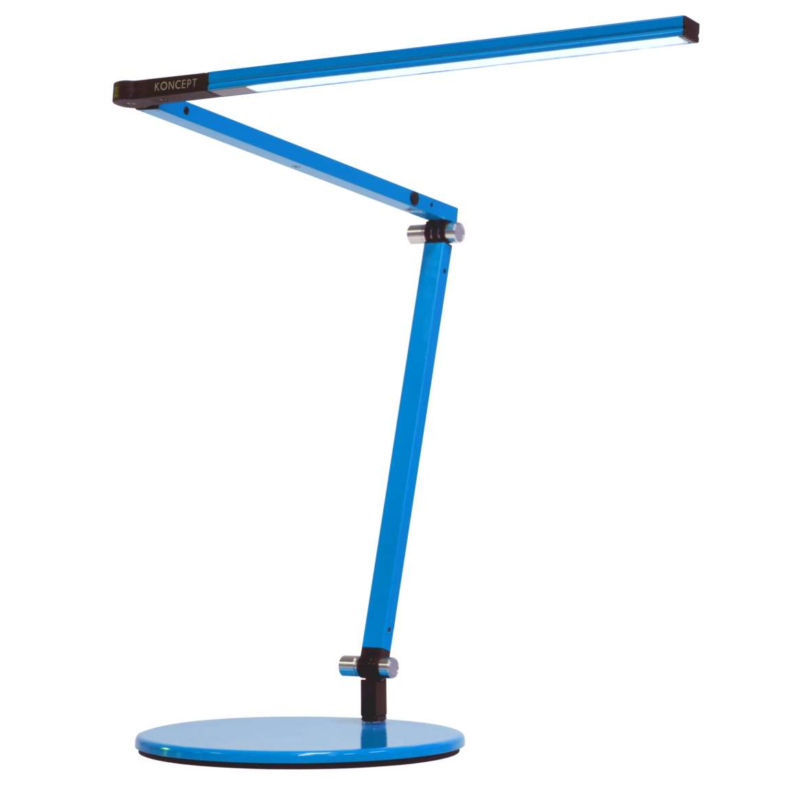 zbar mini led desk lamp by koncept lighting