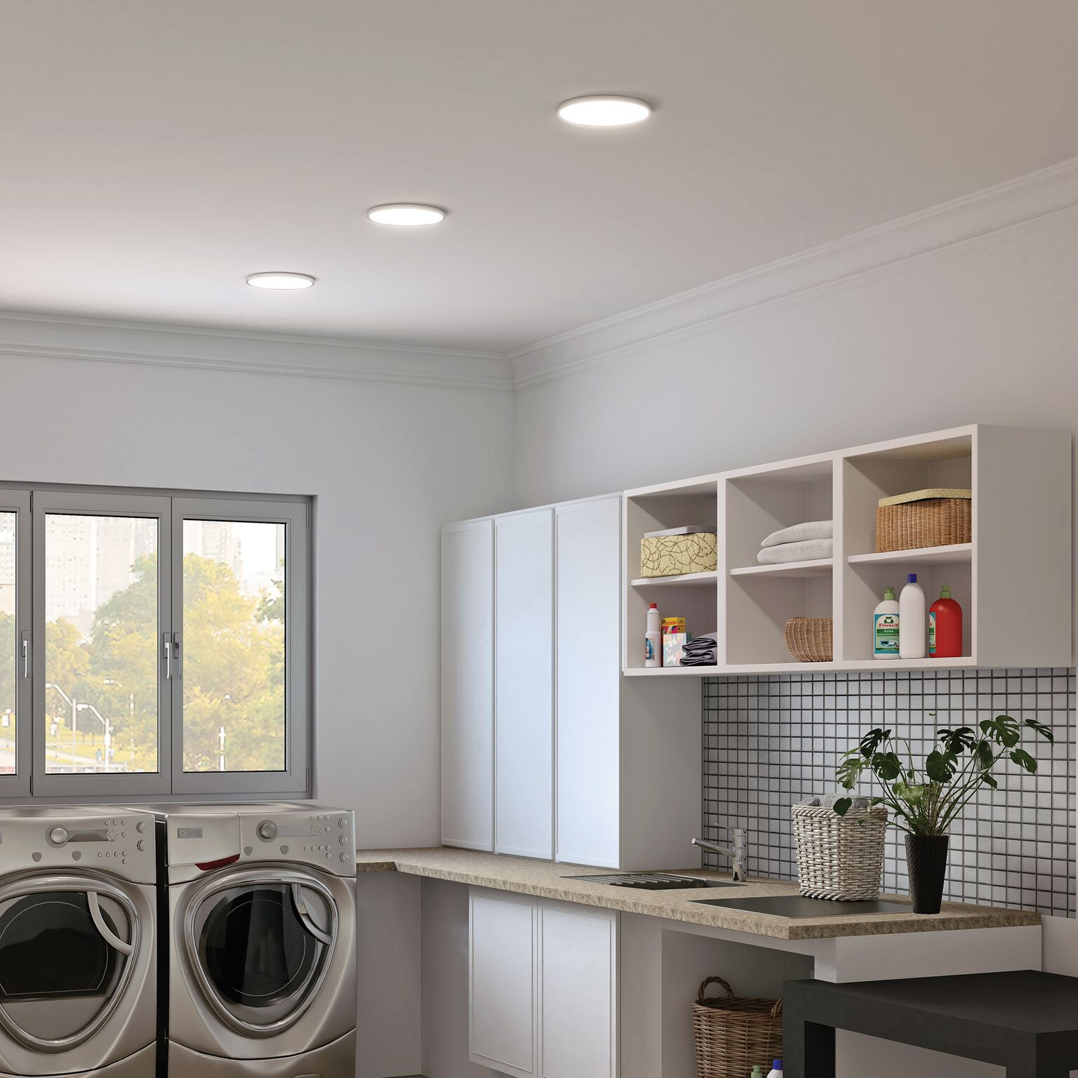 Top 10 Trending Laundry Room Ideas On Houzz: Laundry Room Lighting