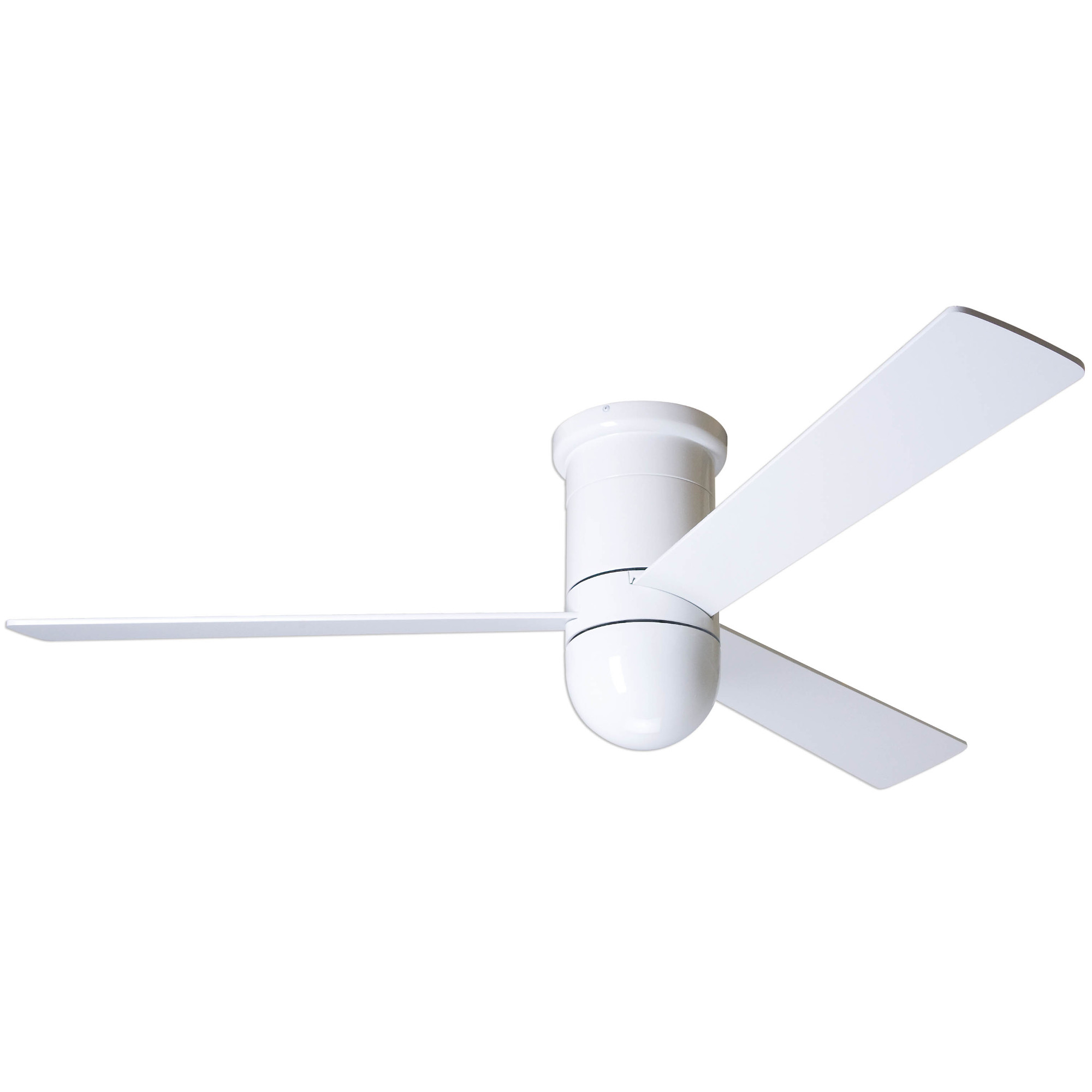 Flush Ceiling Fan No Light by Modern Fan Co