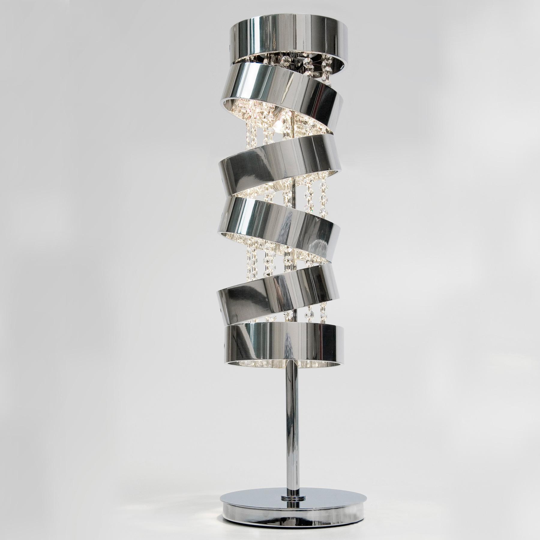 Secret Club Table Lamp With Swarovski Crystal By Ilfari | ILF6395s