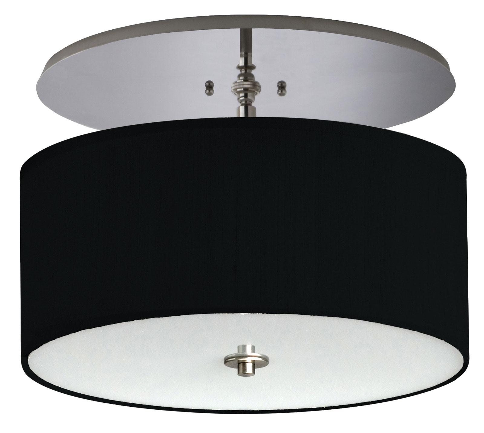 Clique Semi Flush Ceiling Light By