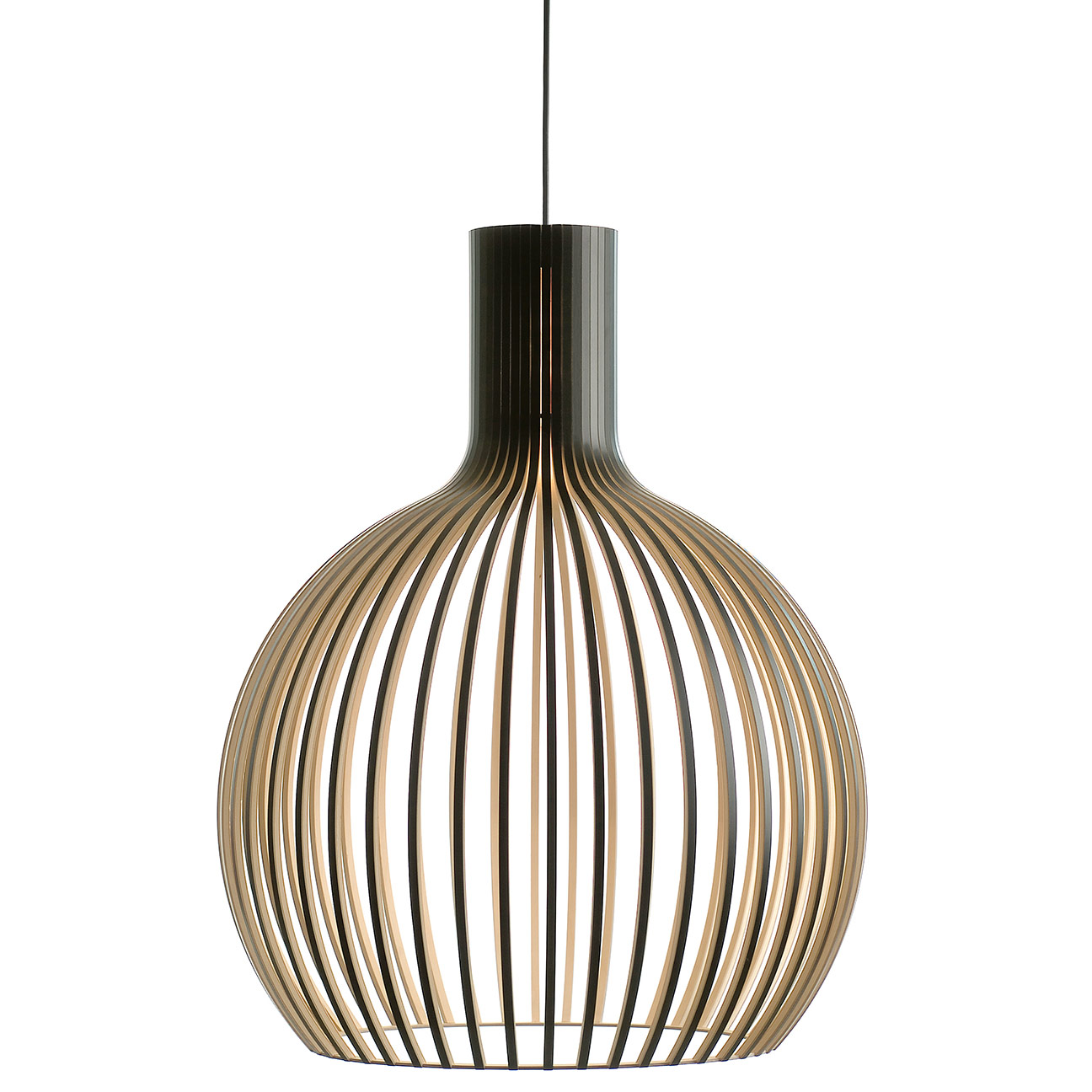 Octo 424 Pendant By Secto Design 4240bk8fte26