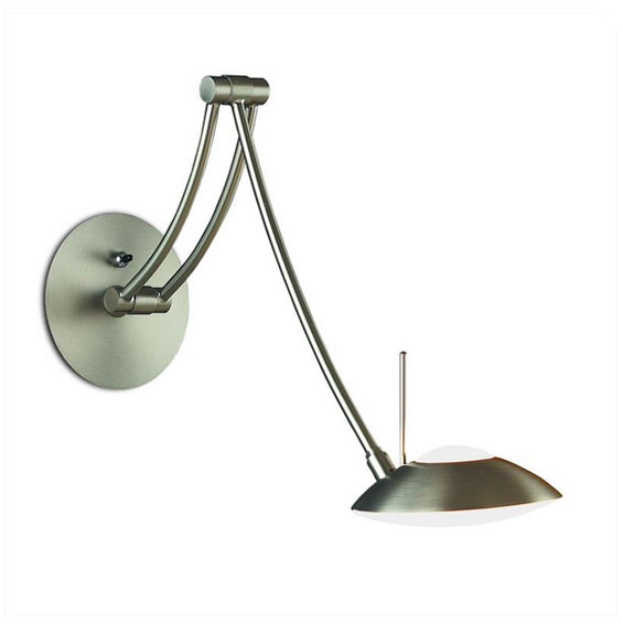 A-782 Liana Swivel Wall Lamp by Lightology Collection LC-A-782NM