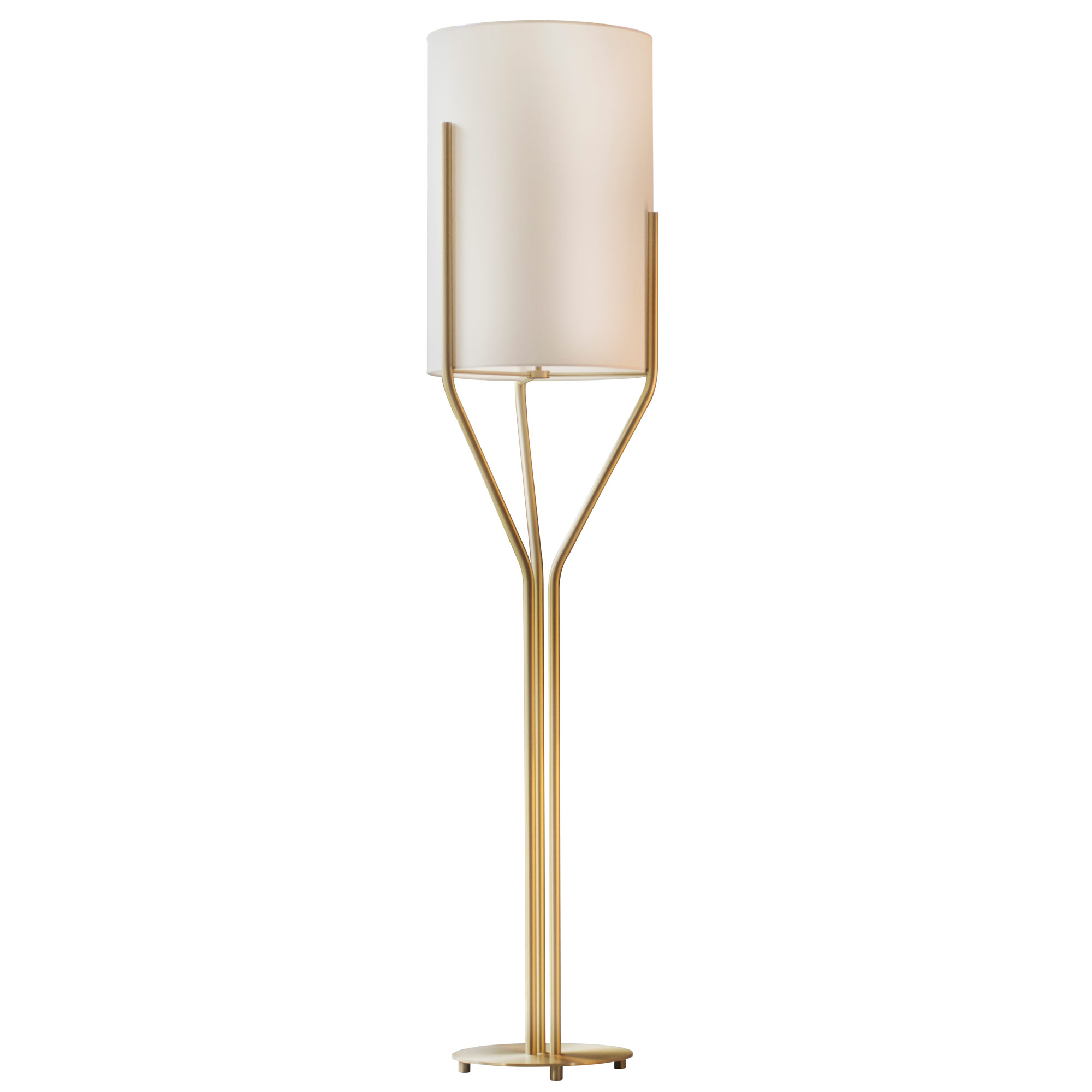 Arborescence Large Shade Floor Lamp By
