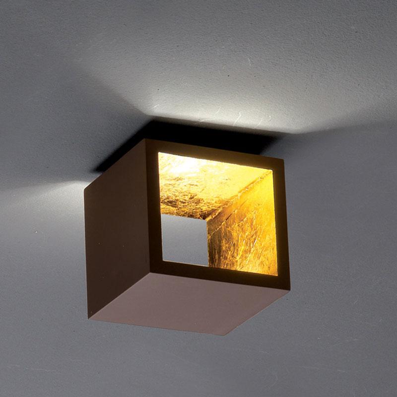 Cubo Wall Ceiling Light By Zaneen Design D4 3004cho Glf