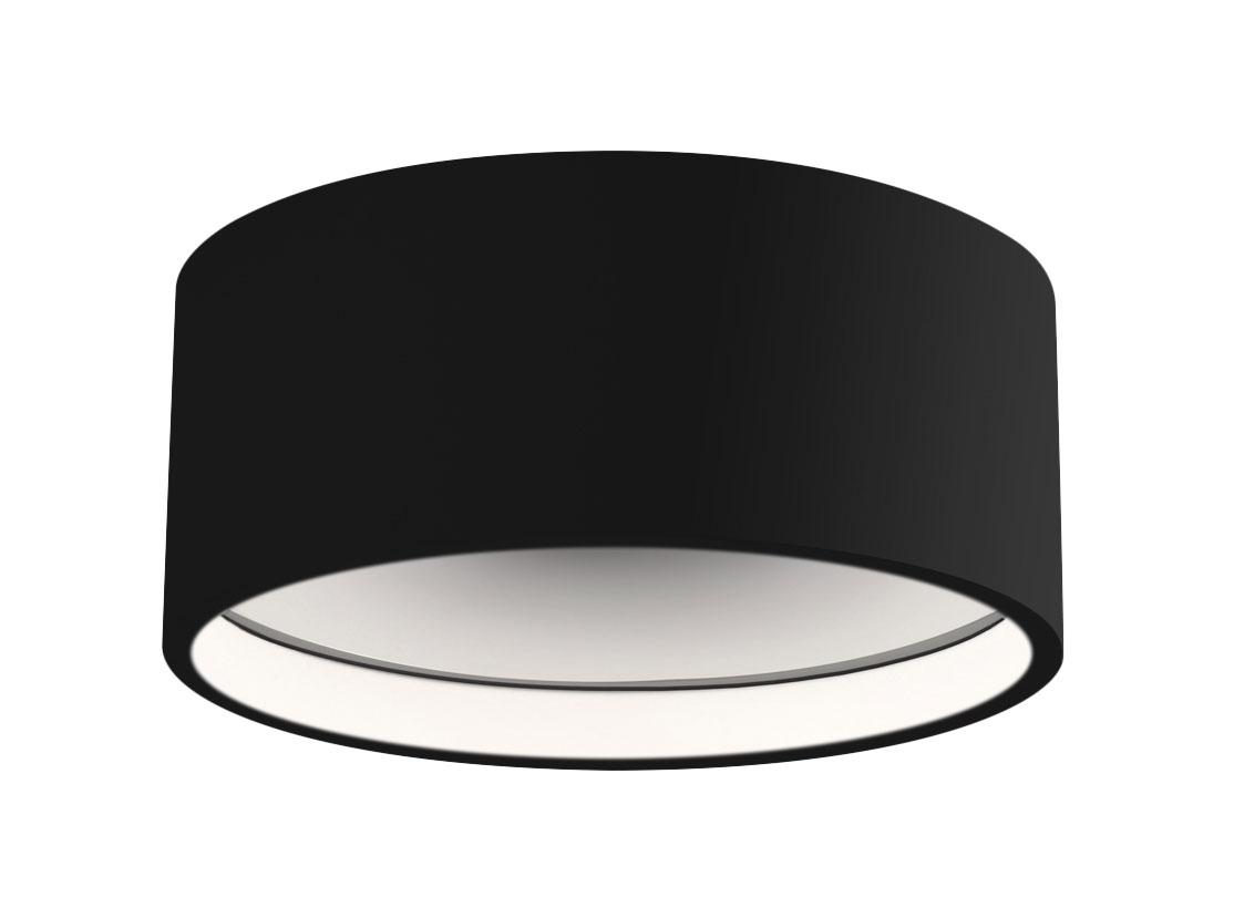 Trenton Outdoor Ceiling Light Fixture By Kuzco Lighting Ec18705 Bk
