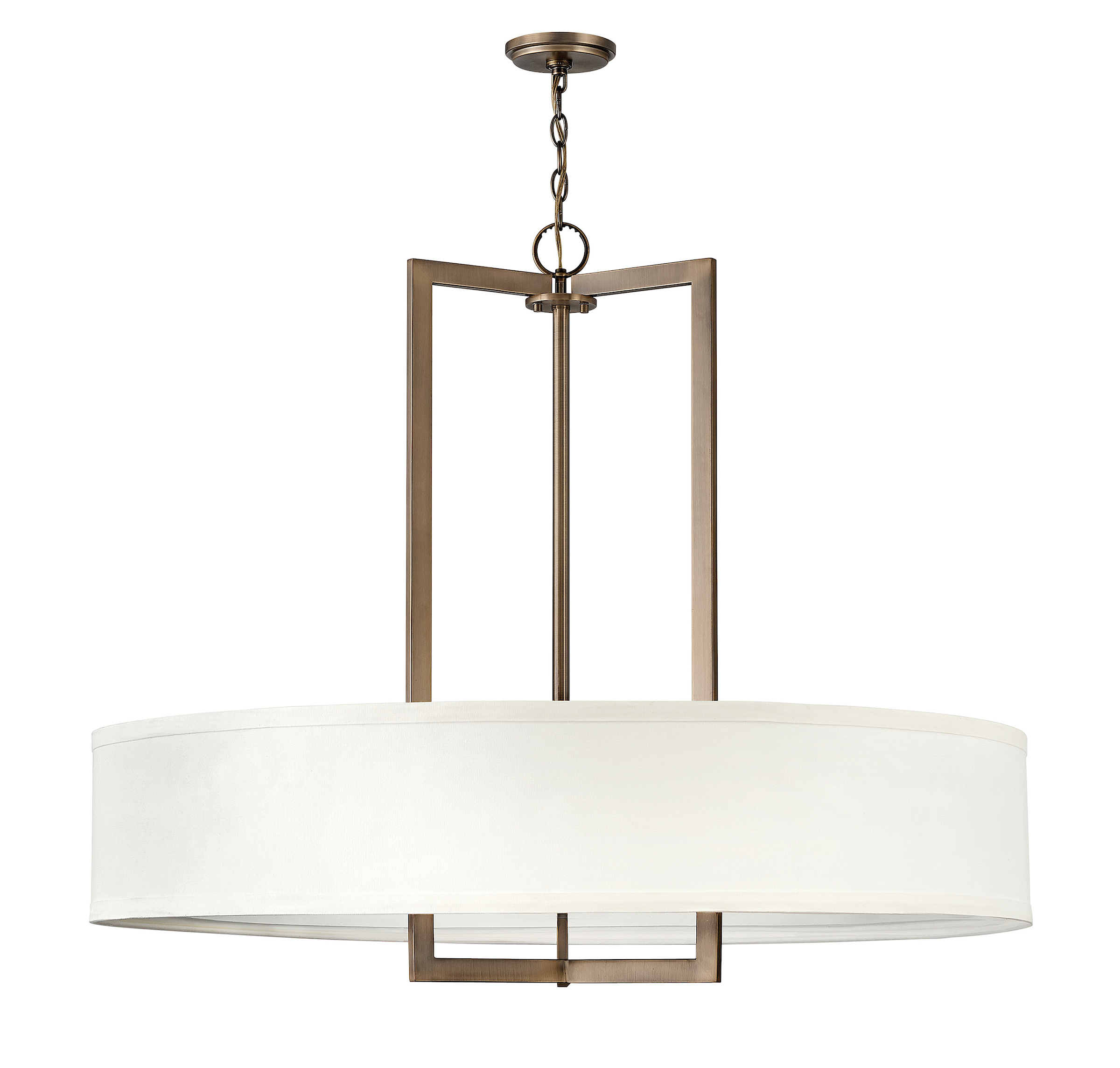 Hampton Large Drum Pendant By Hinkley