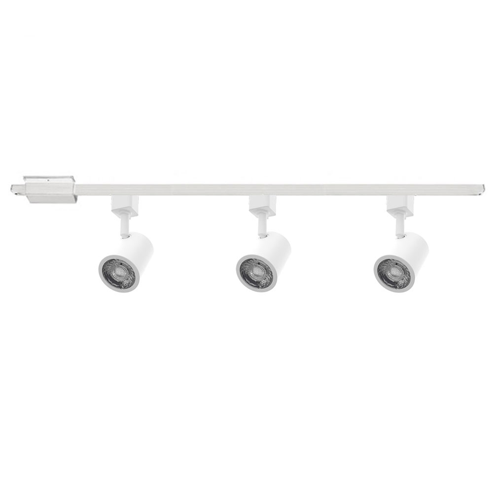 Charge 120v 3 Light Track Kit By Wac Lighting H 8010 30 Wt