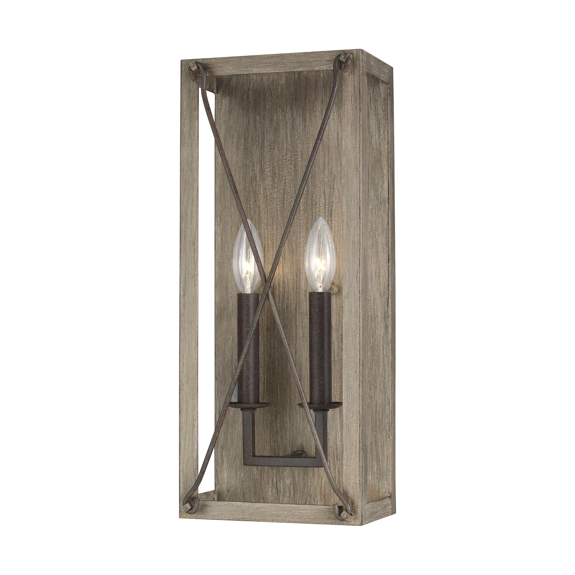Thornwood Wall Sconce By Sea Gull Lighting 4126302 872