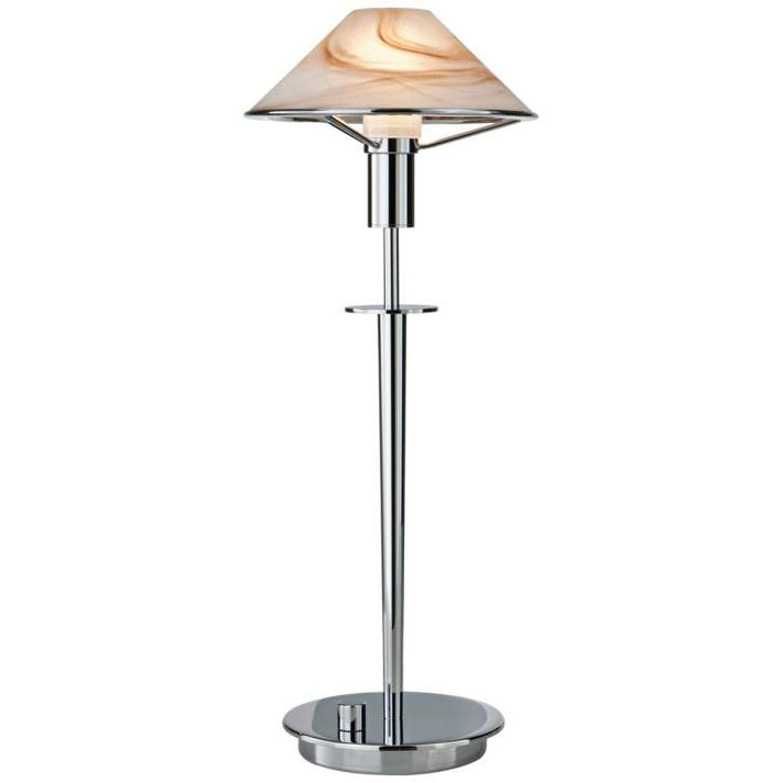 Aging eye glass shade table lamp by holtkoetter 6514 ch abr for Holtkoetter table lamp 6514