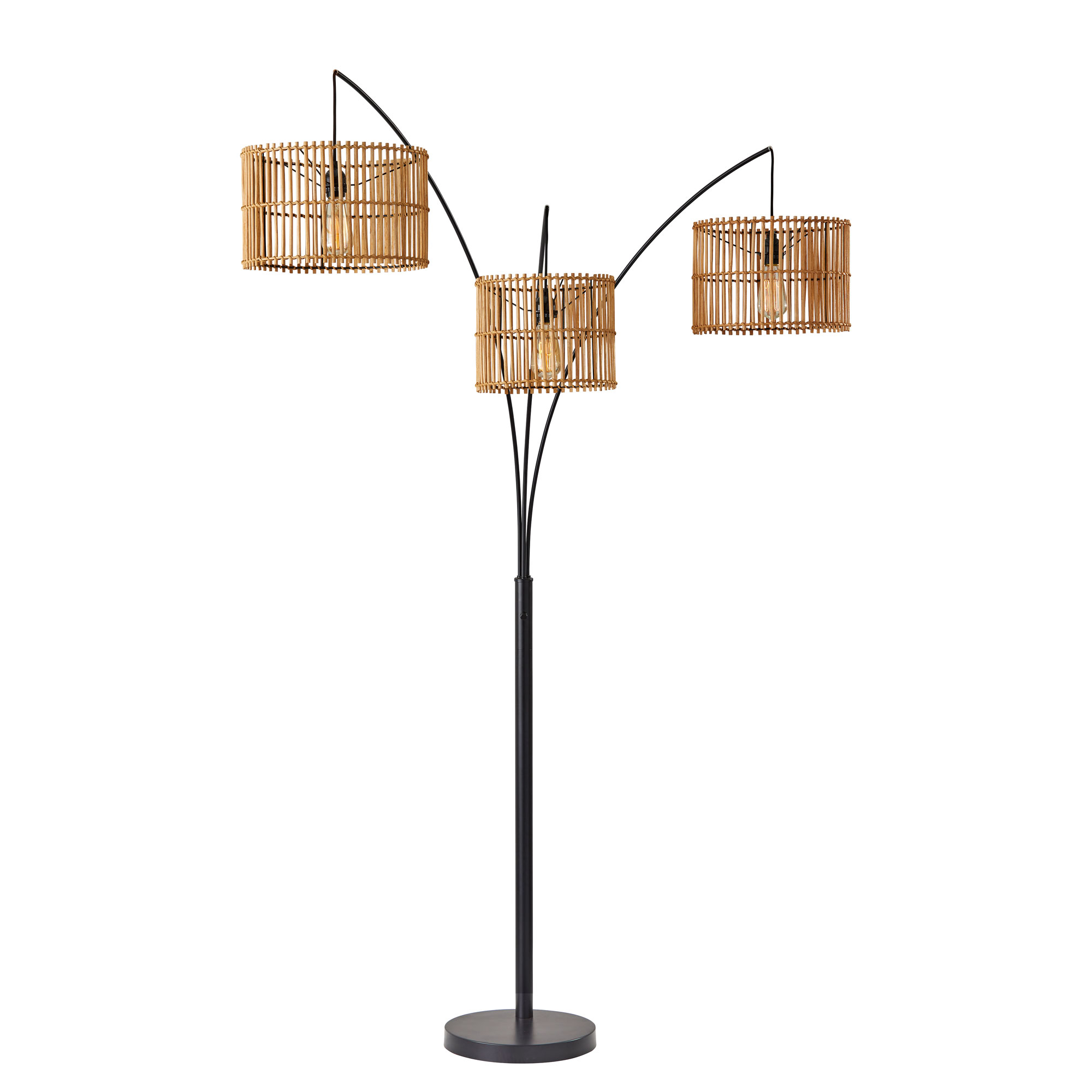 Cabana Arc Floor Lamp By Adesso Corp 4199 12