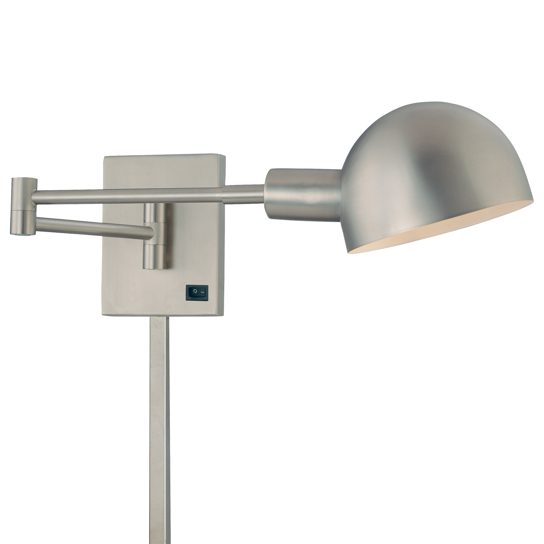 Wall Swing Lamps For Bedroom : P3 Swing Arm Wall Lamp by George Kovacs P600-3-603