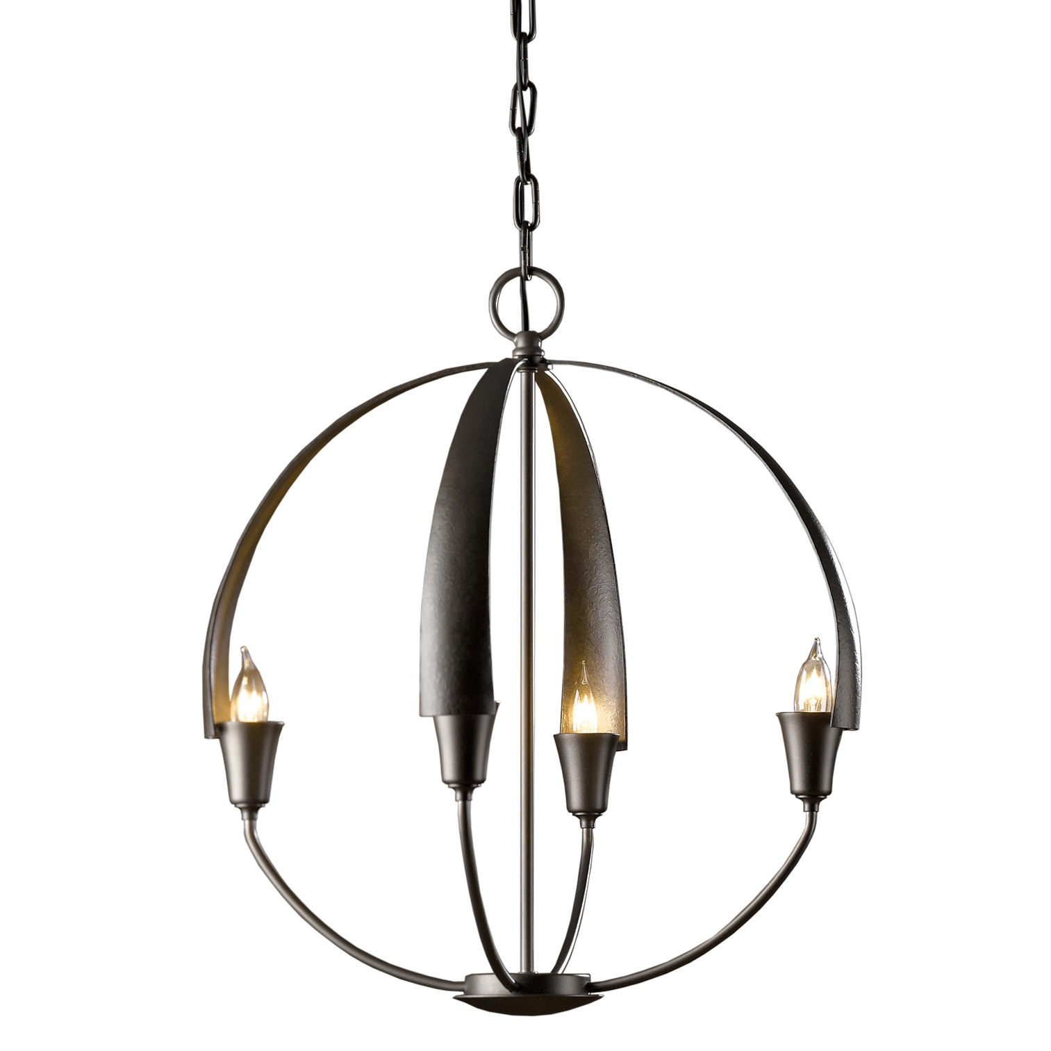 Cirque chandelier by hubbardton forge 104201 1003 aloadofball Choice Image