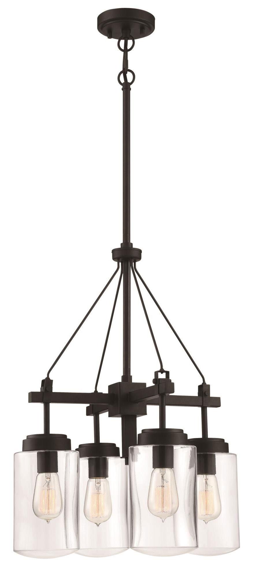 Crosspoint outdoor chandelier by craftmade 52124 esp