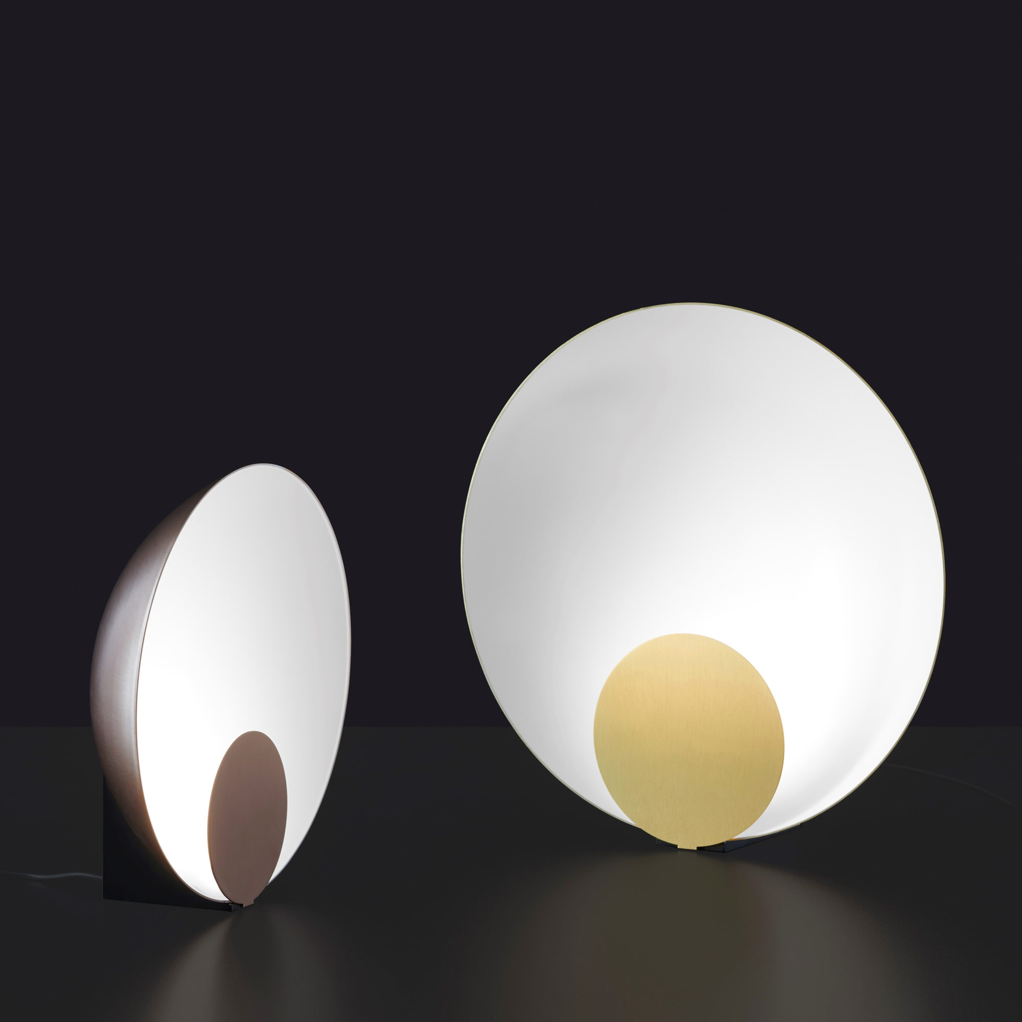 Siro Table Lamp By Oluce Srl L0287 Br