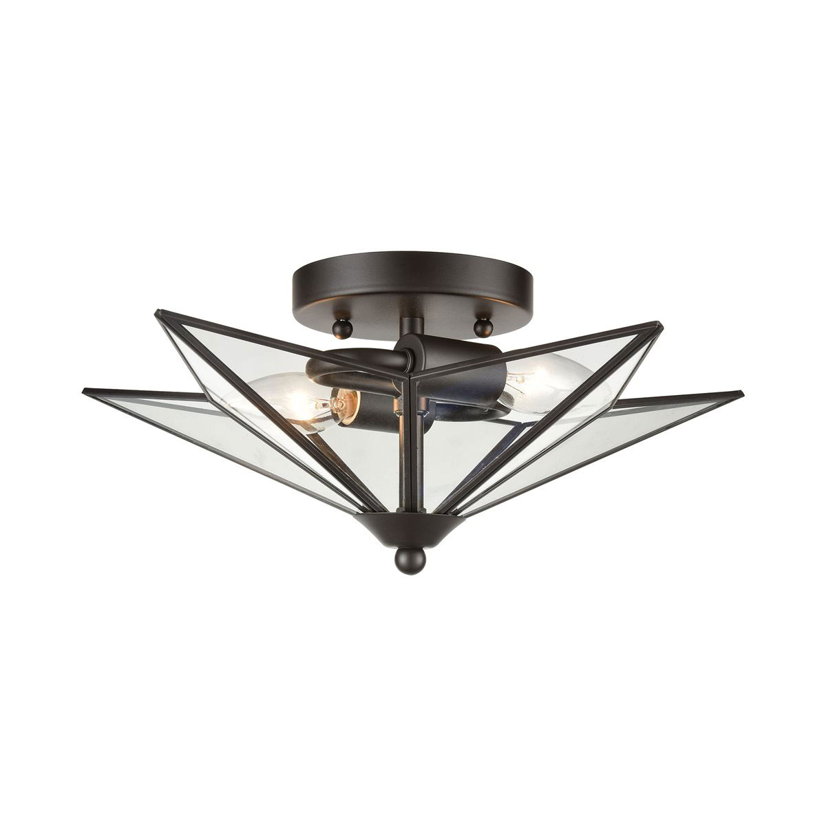 Moravian Star Ceiling Light Fixture By