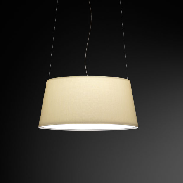 Warm Fabric Shade Pendant By Vibia 4925 10