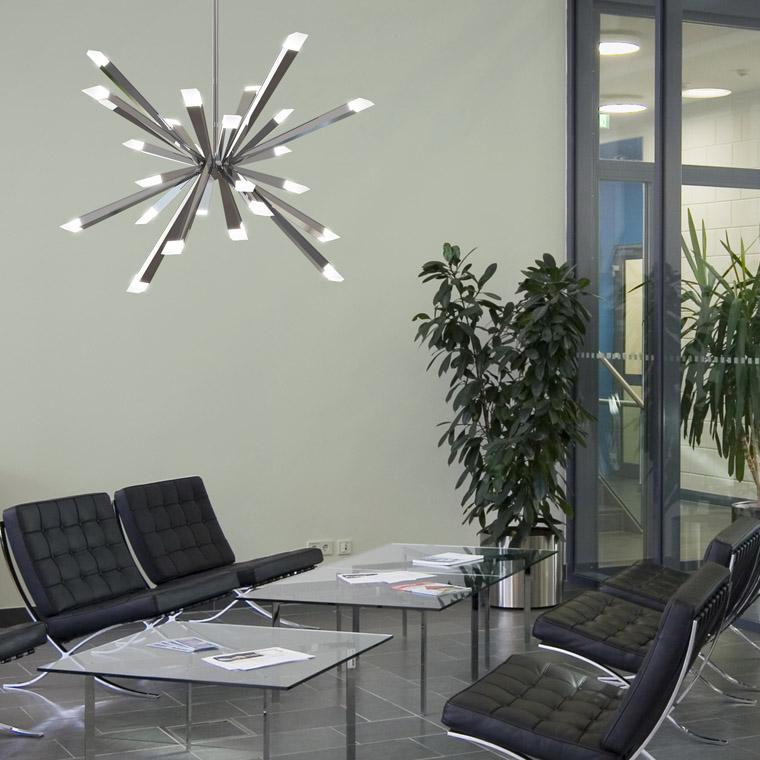 Led Foyer Lighting : Installation gallery entry foyer lighting