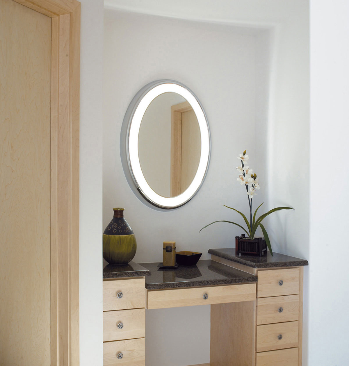 entryway table creating inviting impression at the first sight. Tigris Oval Surface Mirror By Tech Lighting Entryway Table Creating Inviting Impression At The First Sight N