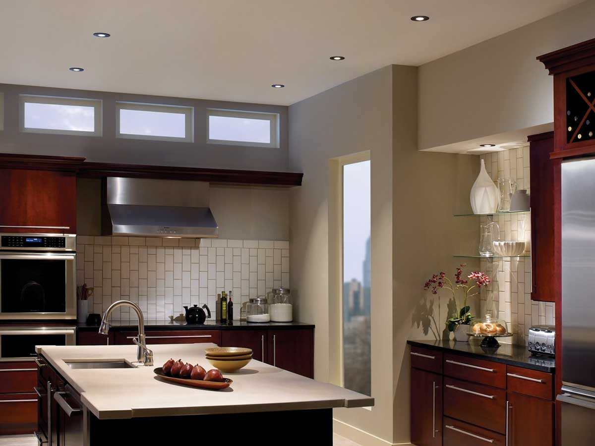 Kitchen Light In Installation Gallery Kitchen Lighting Recessed
