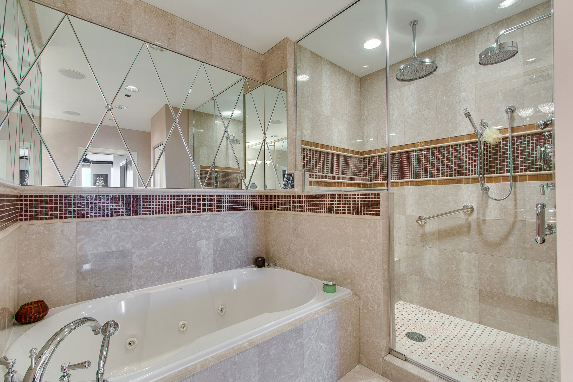 6 Inch Frosted and Clear Lens Shower Trim & Moises Malave - ALA Lighting Specialistu003cbru003eChicago Showroom at ...