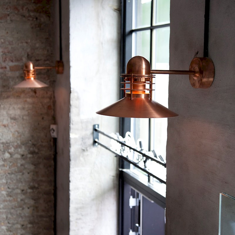 Nyhavn outdoor wall sconce by louis poulsen