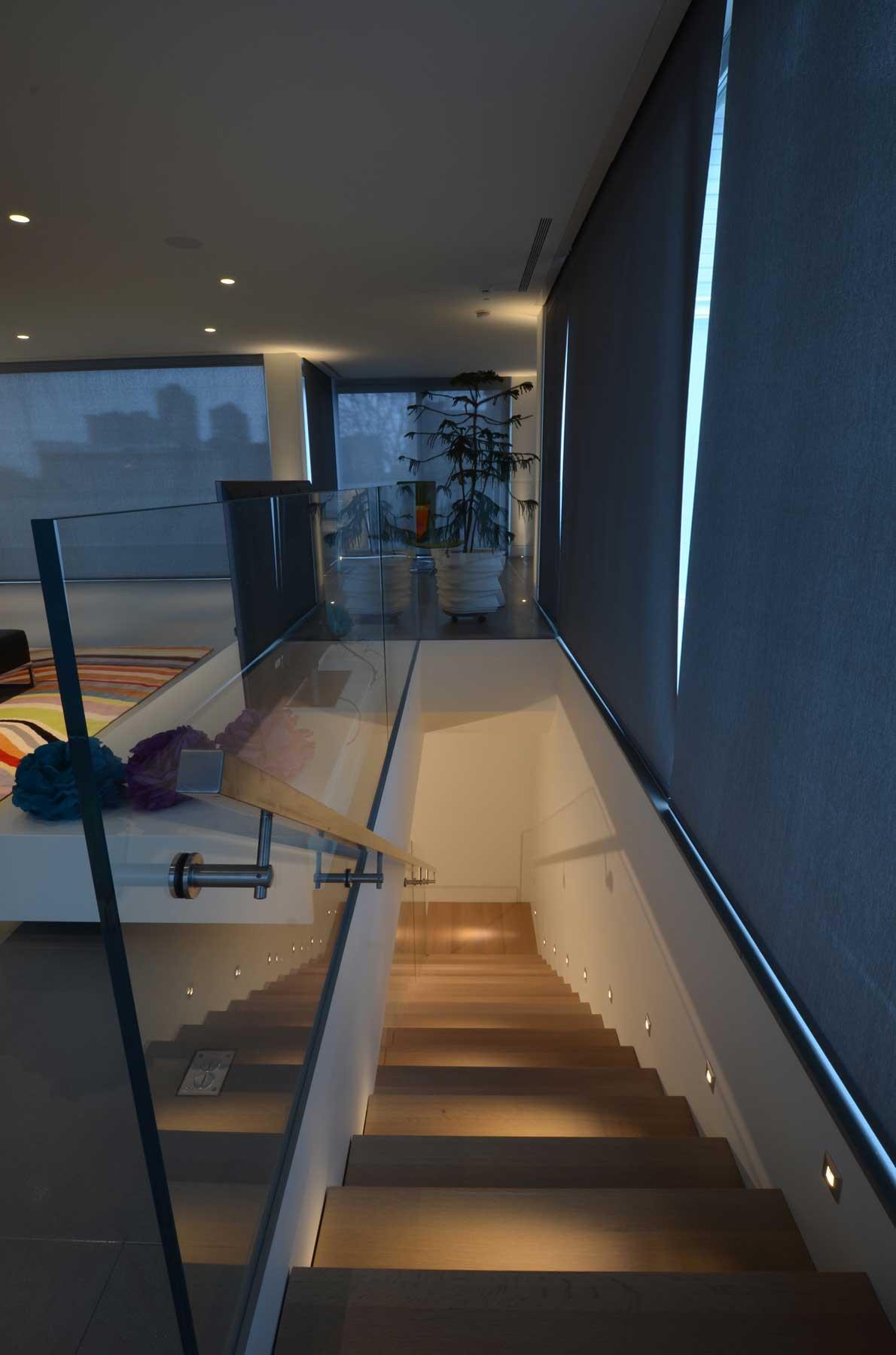 Installation Gallery Stairway Lighting