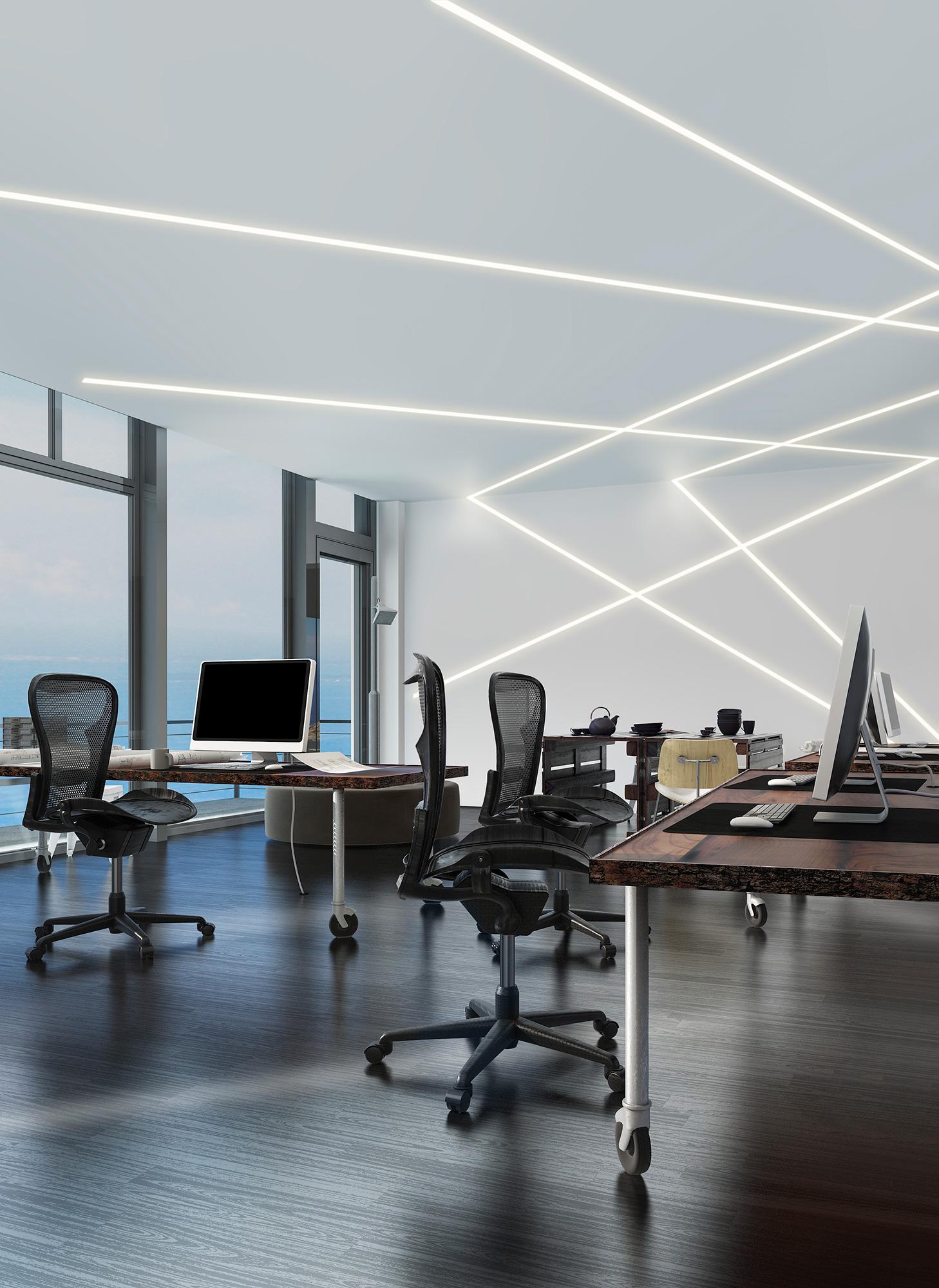 Installation Gallery Office Lighting