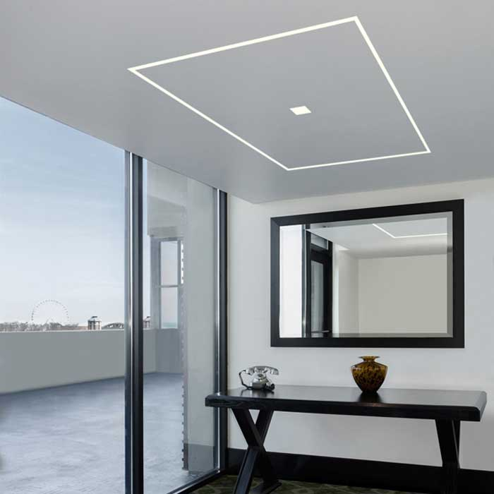 Truline 5a 2 5w 24vdc plaster in led system by pureedge lighting