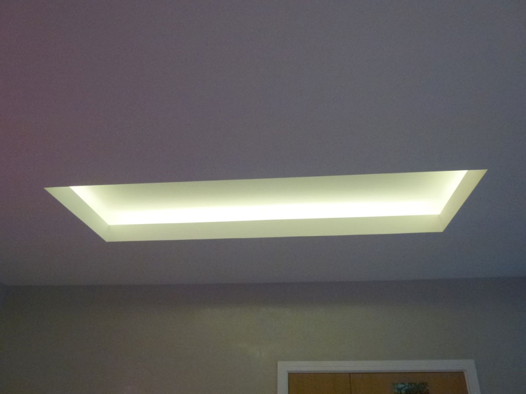 installation gallery cove lighting