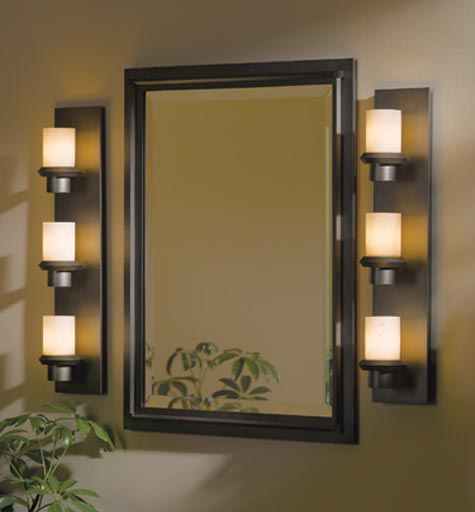 Hubbardton Forge Oculus: Staccato 3 Light Wall Sconce By Hubbardton Forge