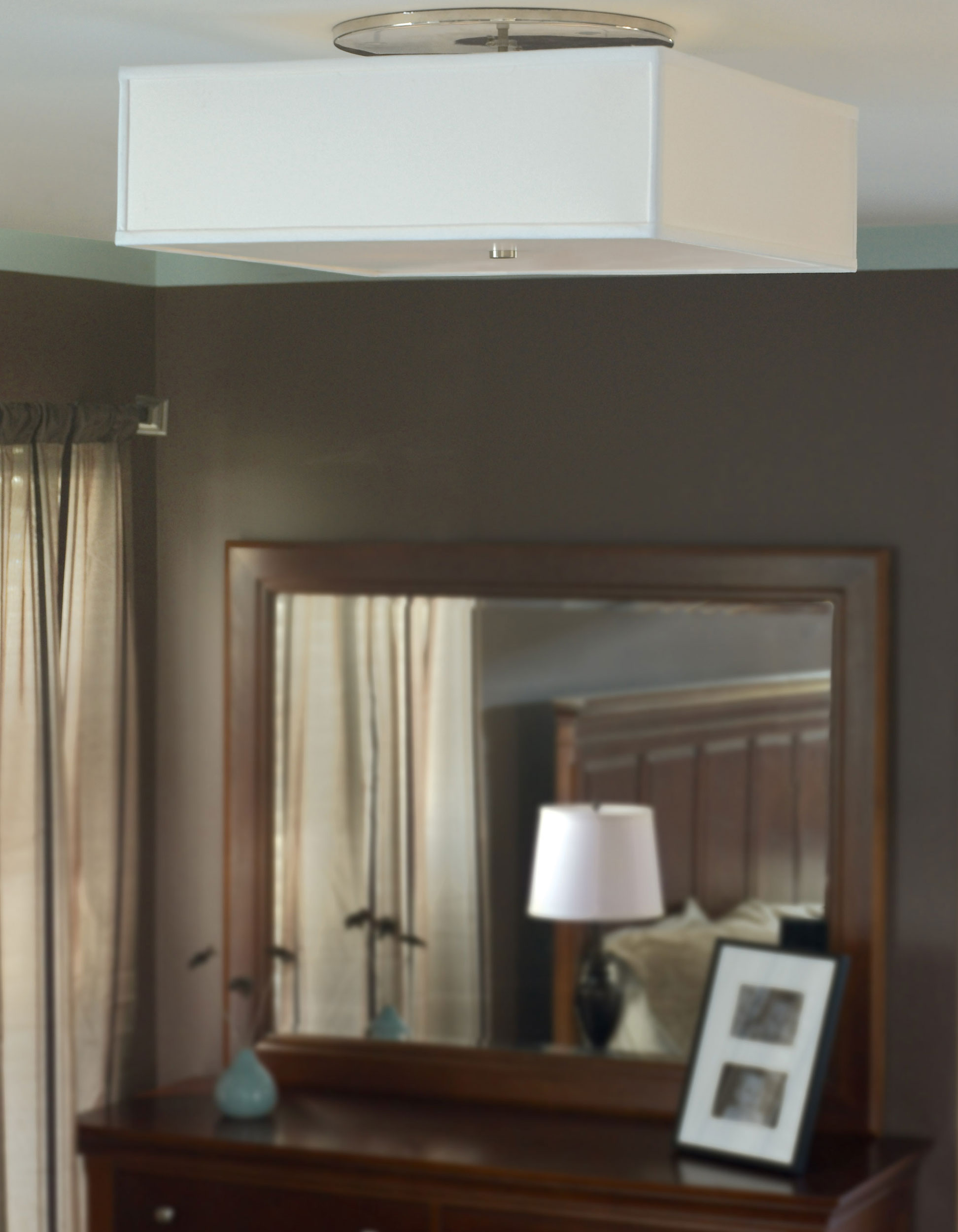 Chambers Ceiling Light by Tech Lighting Chambers Ceiling Light by Tech  Lighting  a  Installation Gallery   Bedroom Lighting. Install Mirror Bedroom Ceiling. Home Design Ideas