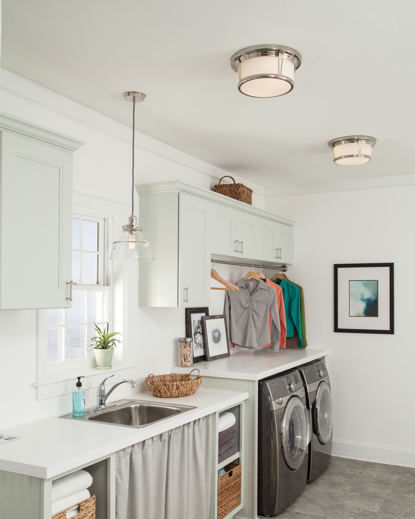 Woodward ceiling light fixture by feiss