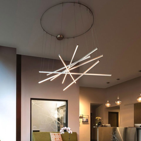 Cirrus Channel System by Edge Lighting