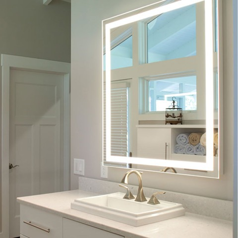 Lighted Mirrors by Electric Mirror