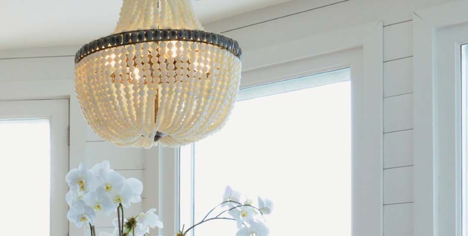 Beaded Chandeliers & Pendants