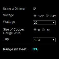 Voltage Drop Calculator